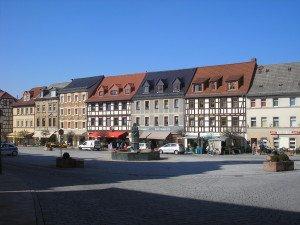 Schmölln, Markt