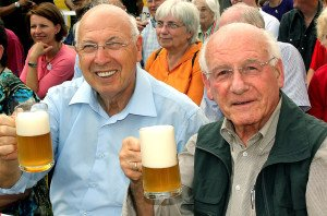 Pietro Fabris und Gerhard Knapp