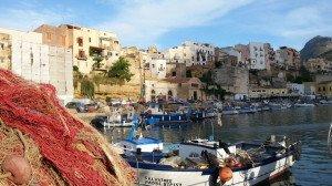 Hafen von Castellammare del Golfo auf Sizilien