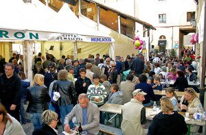 Messe Fiera Franca, der Herbstmarkt in Bassano