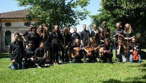 Schüler der Vittorelli-Schule aus Bassano del Grappa